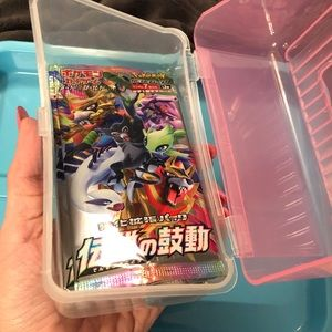 (1) Japanese Pokemon booster pack